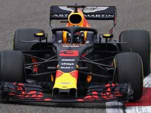Phew! Ricciardo makes it with seconds to spare