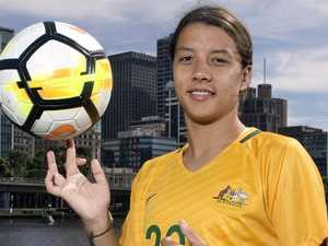 Sam Kerr shoots Matildas into World Cup