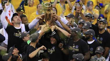 Can anyone stop the Warriors winning again? Picture: Getty Images/AFP