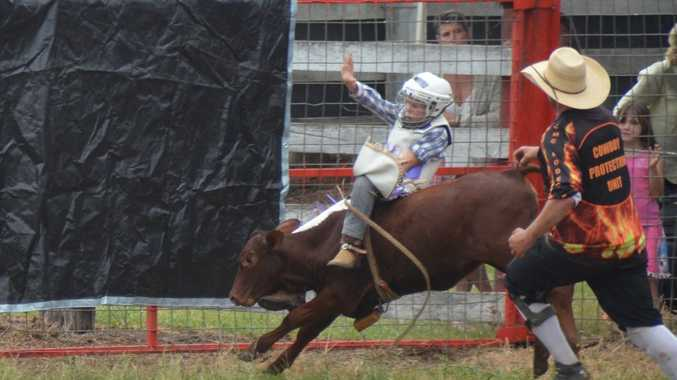 WATCH: Pint-sized poddy riders wow crowd