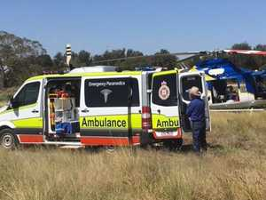Man airlifted after injured in farming incident