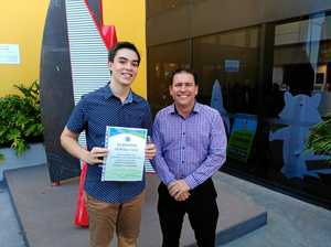 Youth recognised at Mayor's breakfast