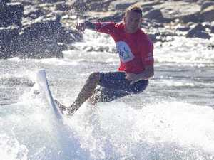 Sunderland leads charge at Agnes Water surf festival