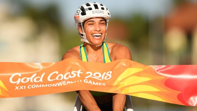 Aussie Madison de Rozario adds a second gold medal to her stunning Commonwealth Games. Picture: Getty Images