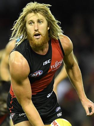 Essendon skipper Dyson Heppell set the tone. Pic: Getty Images