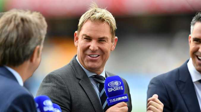 Cricket great Shane Warne likely to join Bill Lawry and Steve Smith in new look commentary group. (AAP Image/Darren England)