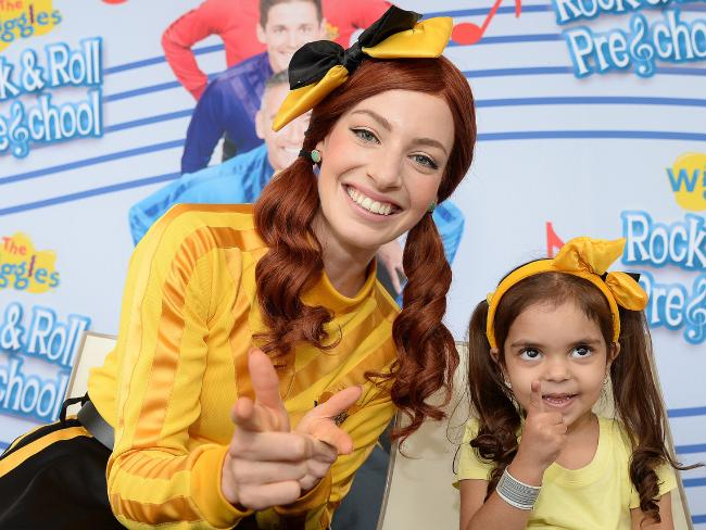 Yellow Wiggle, Emma Watkins, announced this week she was taking time off performing to have surgery for Endometriosis. Picture: Elenor Tedenborg