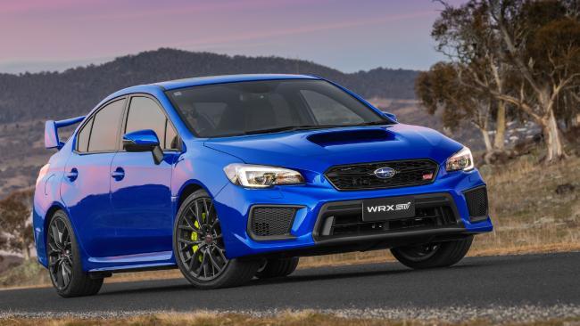 2018 Subaru WRX STI.