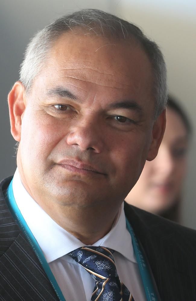 Tom Tate's security reserved the elevator just for the Gold Coast Mayor and his wife Ruth, leaving nearby guests confused. Picture: Glenn Hampson