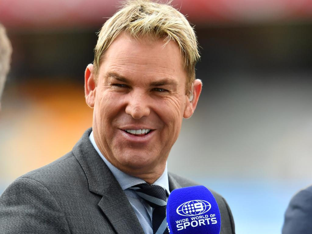 Shane Warne is no stranger to commentating and Channel Seven are keen to include him in their new line-up. Picture: AAP Image/Darren England