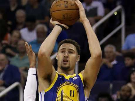 Klay Thompson was in fine form