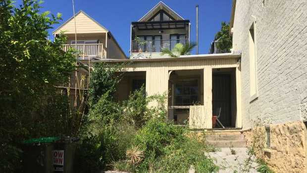 One of Steve Smith's properties which has become overgrown. Picture: www.thisischriswhite.com