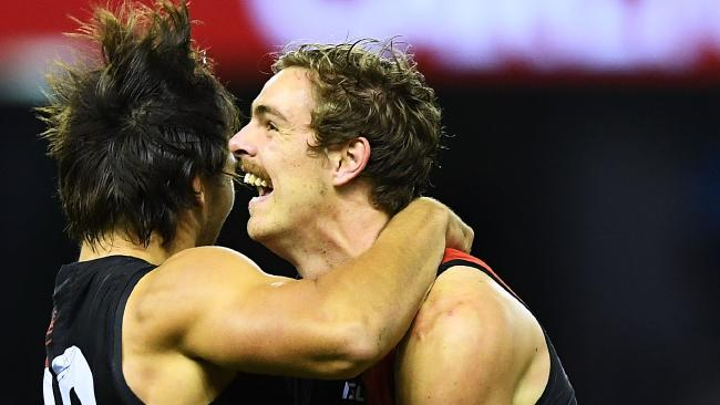 The Bombers are 2-2 and pumped for Anzac Day. Pic: Getty Images