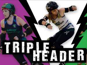 City's roller derby crew go hard for first home event