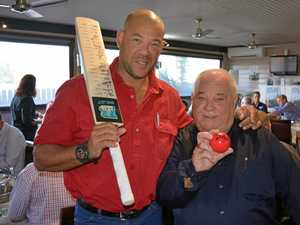 Andrew Symonds pulls a big crowd to Withcott