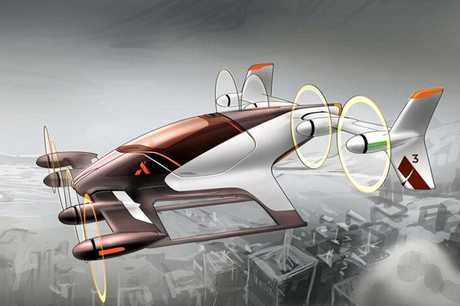 Airbus' A3 Vahana 'flying car' concept vehicle could be used by Uber Elevate in future.