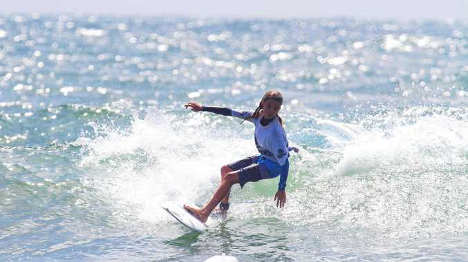 Noosa surfers show how it's done at Agnes Water