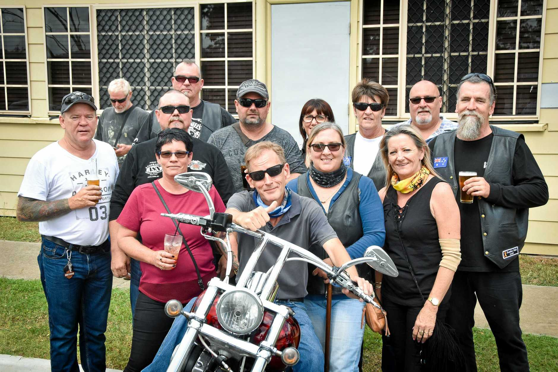 Ride for Tom Dowell from Calliope to Mt Larcom.