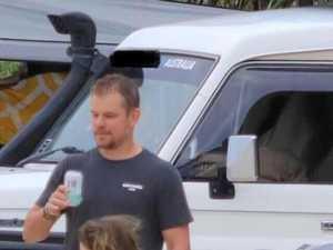 Hollywood megastars snapped on Coast escape