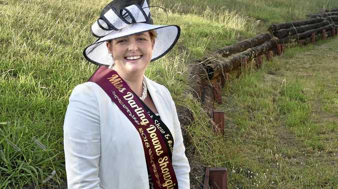 SHOW STOPPER: Warwick Showgirl Sarah Wilson took out the Miss Darling Downs Showgirl title on Saturday in Toowoomba.