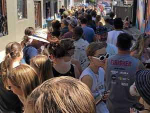 7-hour wait to get locals tickets for Splendour