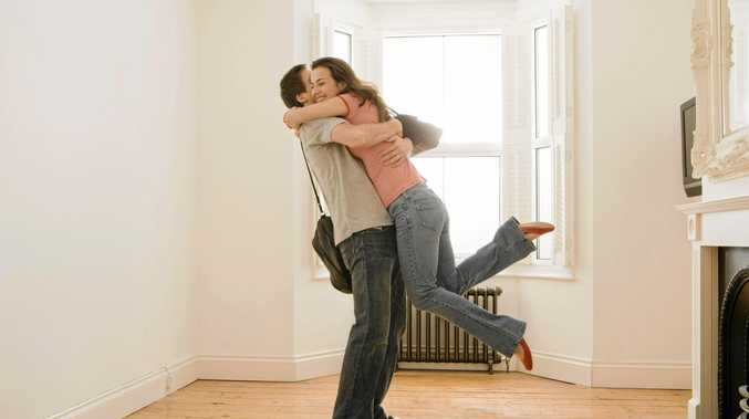 DREAM HOME: falling in love with a property is to blame for most budget blow-outs.