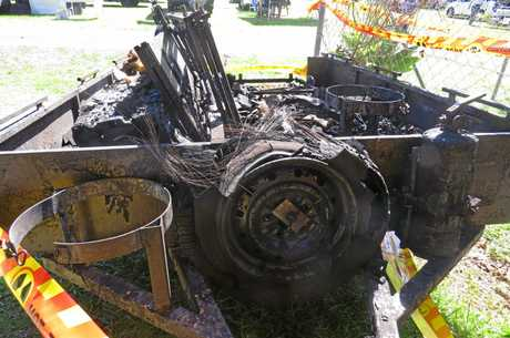 BARBECUE DESTROYED: The East Ballina Lions Club's barbecue trailer has been destroyed by fire over the weekend.