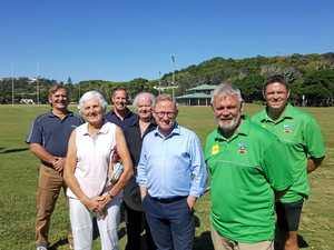 Sporting fields light up with funding announcement