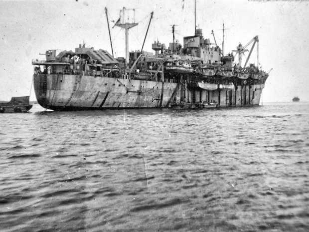 John Oliver served on the HMS Persimmon during the Second World War.
