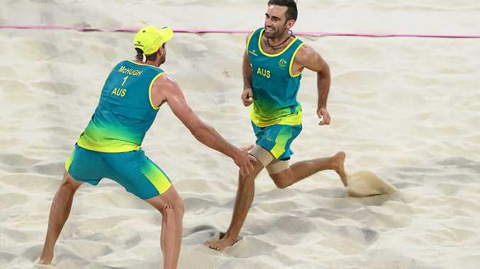 GLOWING ENDORSEMENT: Australia's beach volleyball gold medallist Christopher McHugh says the crowds at the Coolangatta beach front were phenomenal.