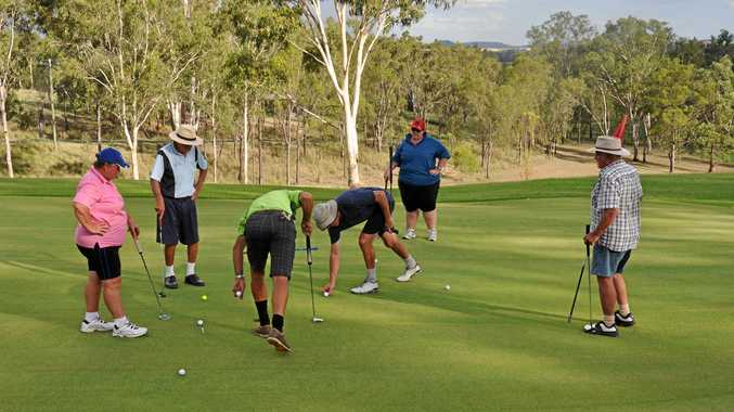 IN THE HOLE: Monto Golf Club hopes to see more local faces involved in the sport.