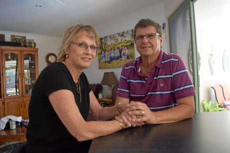 Currimundi man Kim Stokes and his wife Linda Stokes detail their cancer battle in 2015.