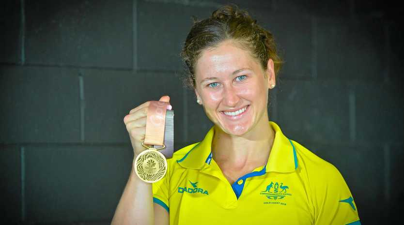 ABSOLUTE INSPIRATION: Tia-Clair Toomey has returned home a hero after her gold medal win at the Commonwealth Games on the Gold Coast.