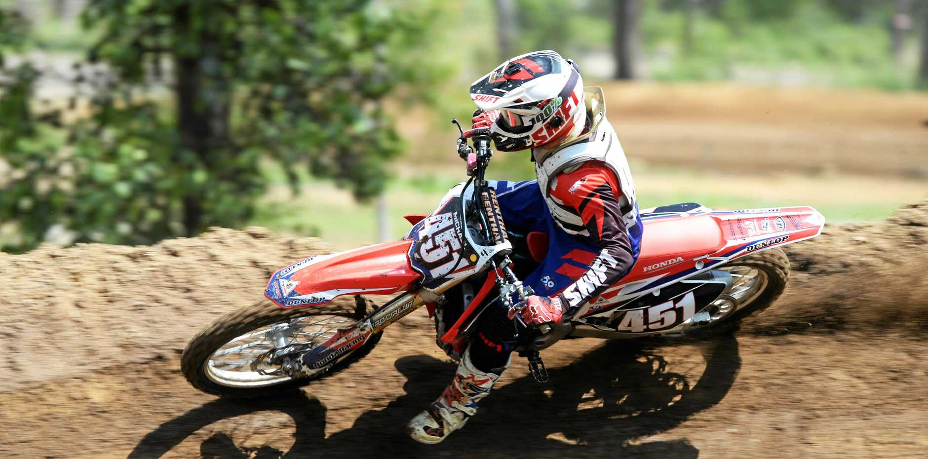 The State Government will give a proposed dirt bike track $150,000 if it gets approval from the Toowoomba Regional Council.