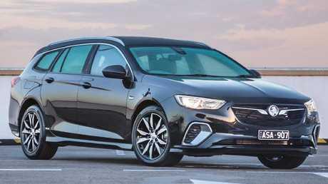 Dawn of a new era: Holden's imported Commodore Sportwagon. Pic: Thomas Wielecki.