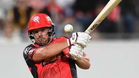 Aaron Finch has been Melbourne Renegades captain since BBL02.