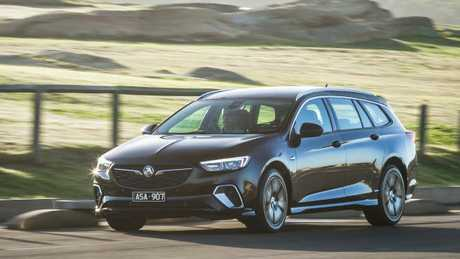 Holden's new Sportwagon is generously equipped. Pic: Thomas Wielecki.
