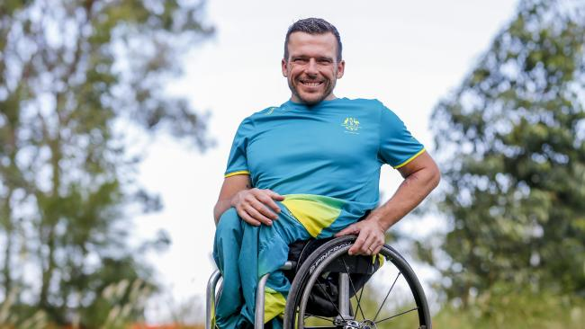 Kurt Fearnley. Photo Tim Marsden