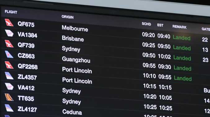 Most people don't pay much attention to their flight numbers but they're loaded with hidden information. Picture: AAP/Morgan Sette
