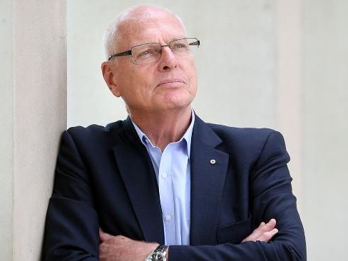 Jim Molan at Parliament House in Canberra.