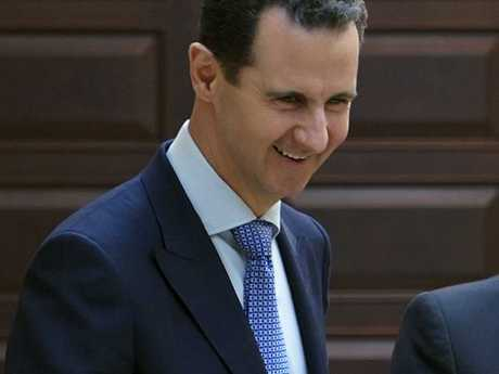 Syrian president Bashar al-Assad denies responsibility for the attack. Picture: SANA via AP