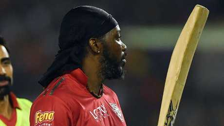 Chris Gayle hammered 63 off 33.