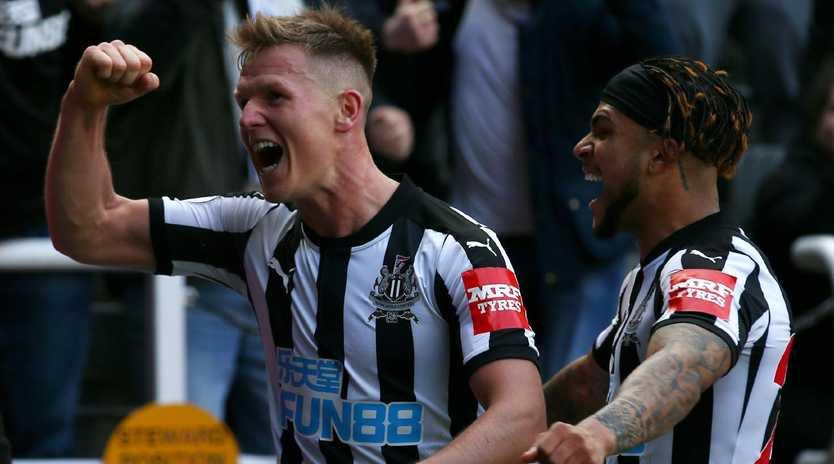 Matt Ritchie of Newcastle United celebrates