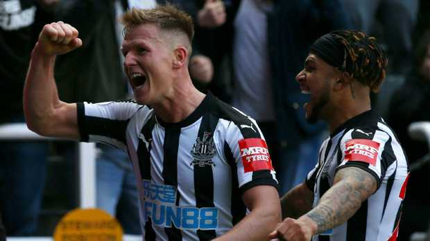 Matt Ritchie of Newcastle United celebrates