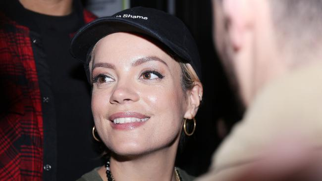 Lily Allen isn't going to hold back in her new book. Picture: Jonathan Rebboah/Mega