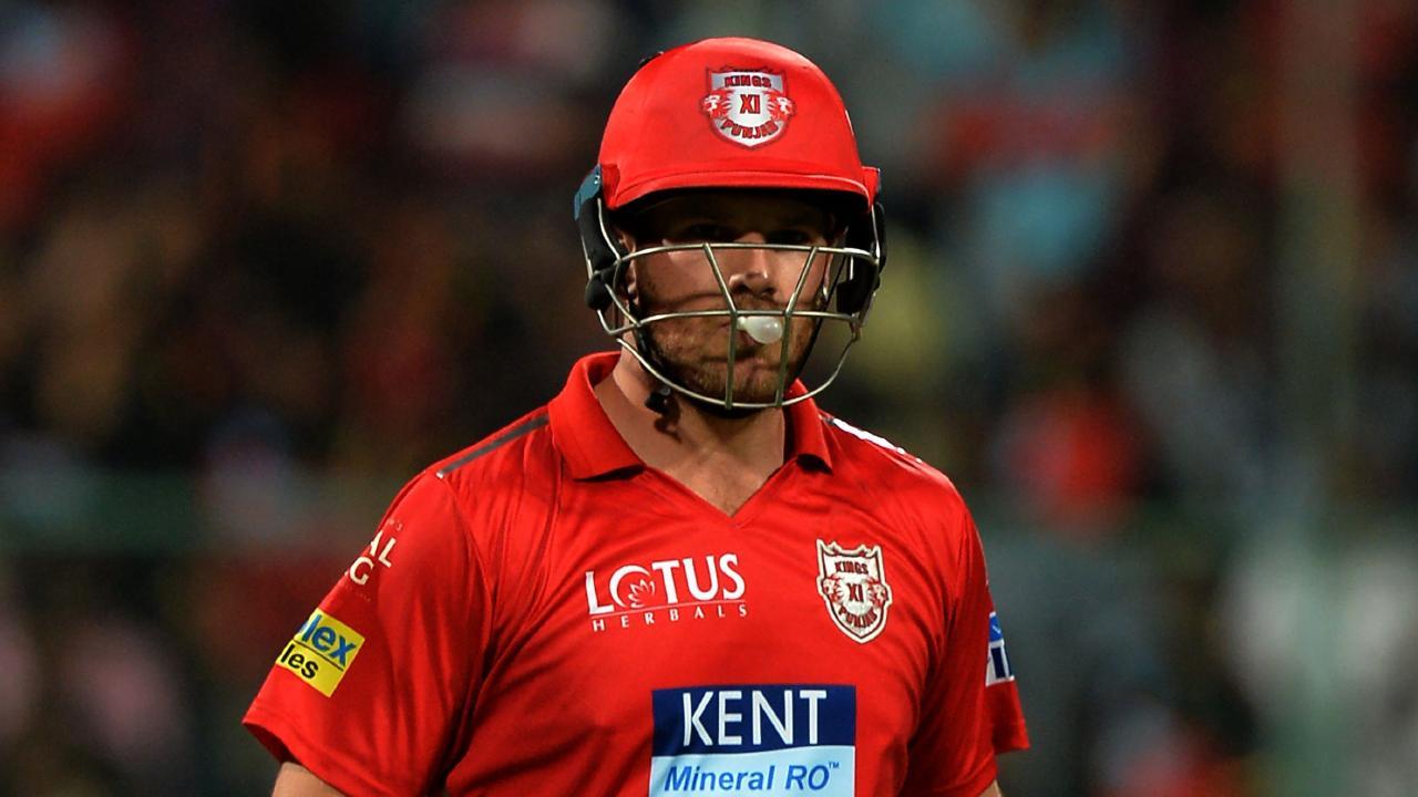 Aaron Finch has fallen for golden ducks in both his IPL innings thus far this season.