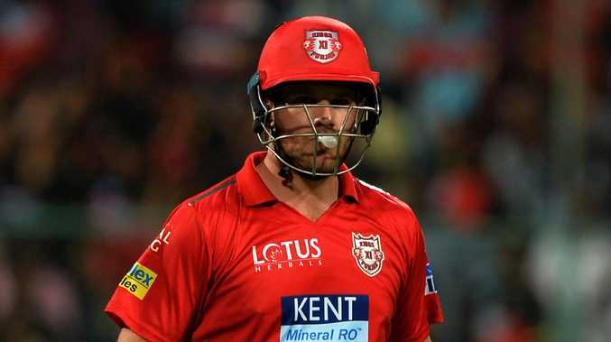 Aaron Finch has fallen for golden ducks in both his IPL innings thus far this season.