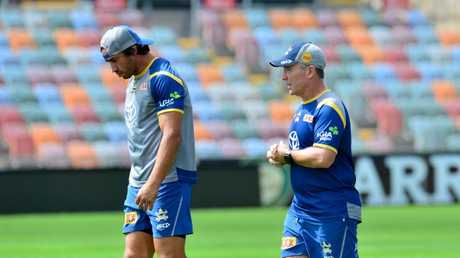 Johnathan Thurston has the confidence of Cowboys coach Paul Green, but he needs to lift. Picture: Evan Morgan