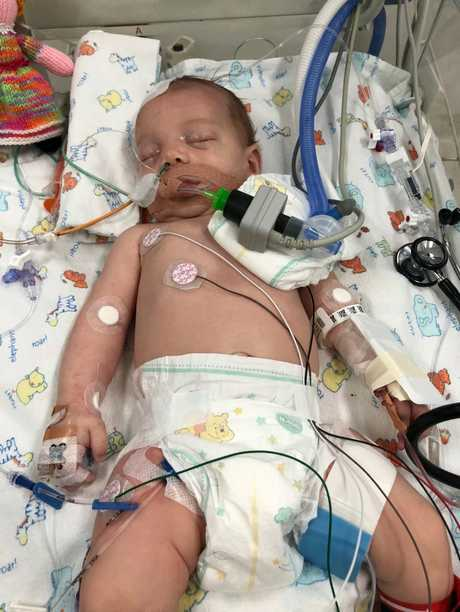 Anthea Brotherton was airlifted to Lady Cilenton Children's Hospital when she was just six-weeks-old.