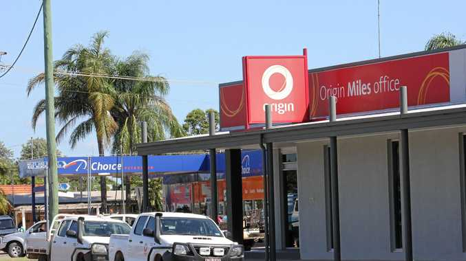 JOB CUTS: Origin Energy's Miles office.